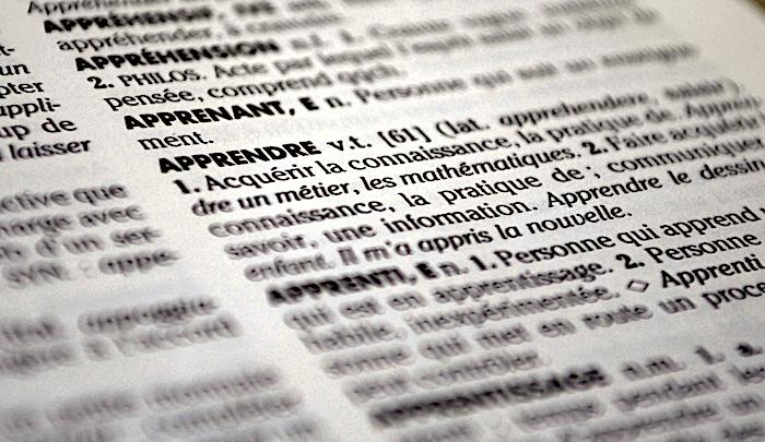 Extrait dictionnaire